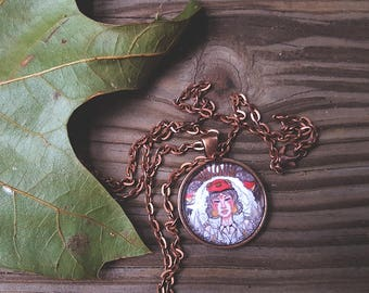Handmade Princess Mononoke Necklace Pendant