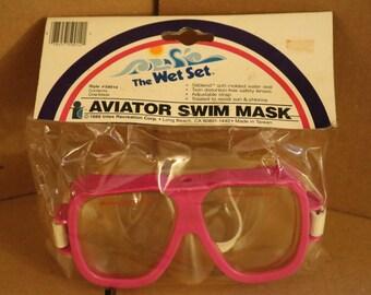 Vintage Aviator Swim Mask
