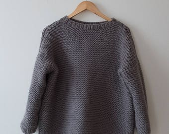 Sweater, handmade sweater, handknitted sweater, casual sweater,