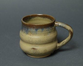 Unique Brown Mug, Tea Cup