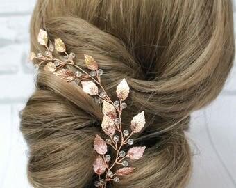 Crystal hair vine  bridal hair vine wedding hair vine hair vine wedding headpiece bridal headpiece crystal headpiece hair accessories wreath