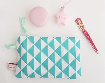 Spring Collection, small size pouch, clutch bag, wallet, make-up bag