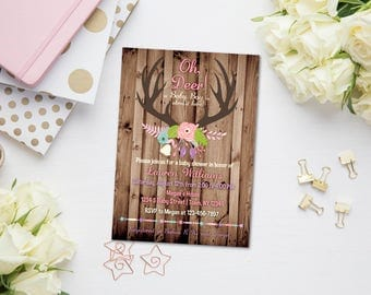 Rustic baby shower | Etsy