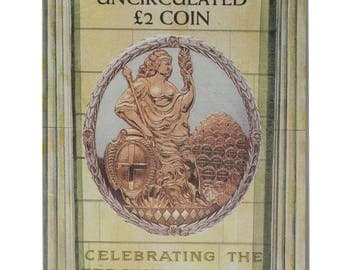 1994 Bank Of England 2.00 Two Pound Brilliant Uncirculated pack