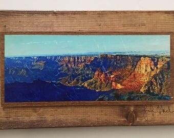 Grand Canyon Wooden Art