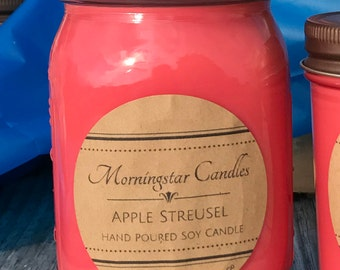 All Natural Soy 16oz. Jar Candles - CURRENT STOCK