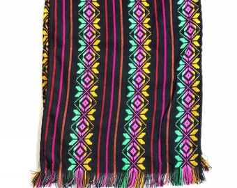 Mexican table runner, fiesta decorations, southwestern blanket, fiesta party decorations, tablecloth, mexican party decorations