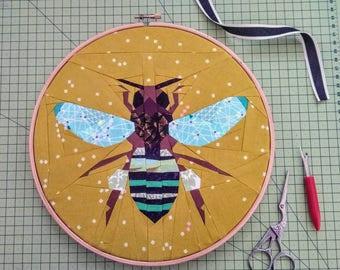 Bee quilt pattern | Etsy : bee quilt pattern - Adamdwight.com