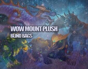 World of Warcraft mounts PLUSH BLIND BAGS