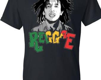 Bob Marley Reggae shirt
