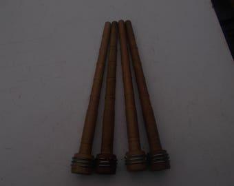 vintage wood bobbins