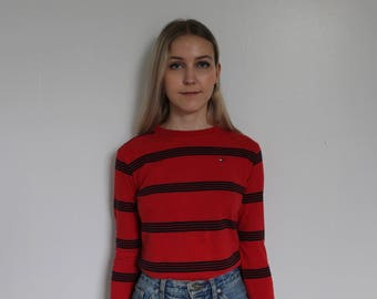 Tommy Hilfiger Striped Long Sleeve T