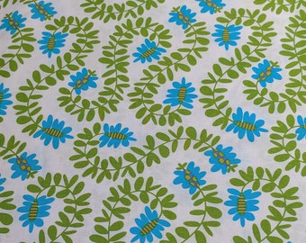 Pretty Bird-Meandering Vines Cotton Fabric by Pillow and Maxfield for Michael Miller Fabrics