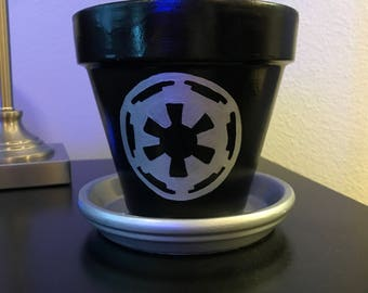 Star Wars Imperial Flower Pot