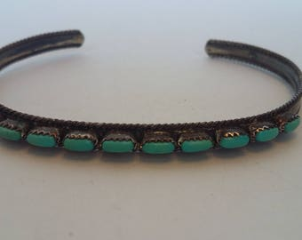 Turquoise Native American Bracelet
