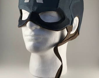 Captain america helmet etsy captain america helmet pronofoot35fo Image collections