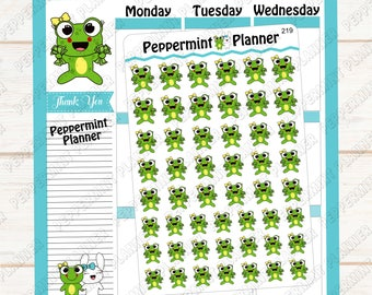 Lilly Pad spending money  or Pay Day --- Hand drawn Planner stickers ---219
