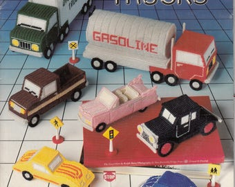 Plastic Canvas Cars & Trucks
