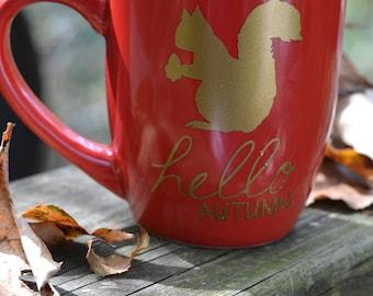 Hello Autumn Coffee Mug