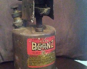 Vintage Otto Bernz torch