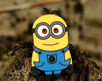 minion Kids gift for child gift for  girl Jewelry Children gifts children Accessories childrens jewelry girl Jewelry Kids pin minion pin