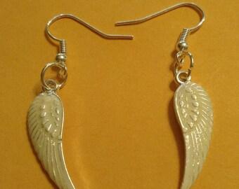 Earrings Angel Wings E1101
