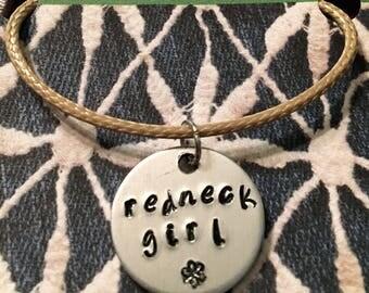 Redneck girl necklace