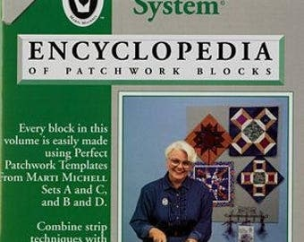 Marti Michell Perfect Patchwork Volume 2, plus Template Set A, Log Cabin Ruler, and Corner Trimmer