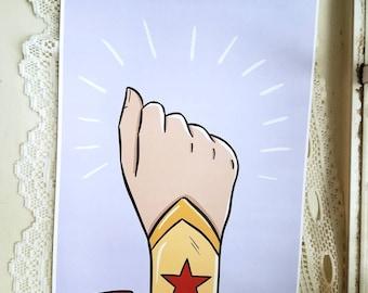 Fight Like A Girl: Wonder Woman