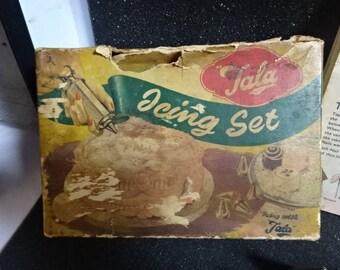 Vintage Tala Icing Set No 1705/Vintage/1950s