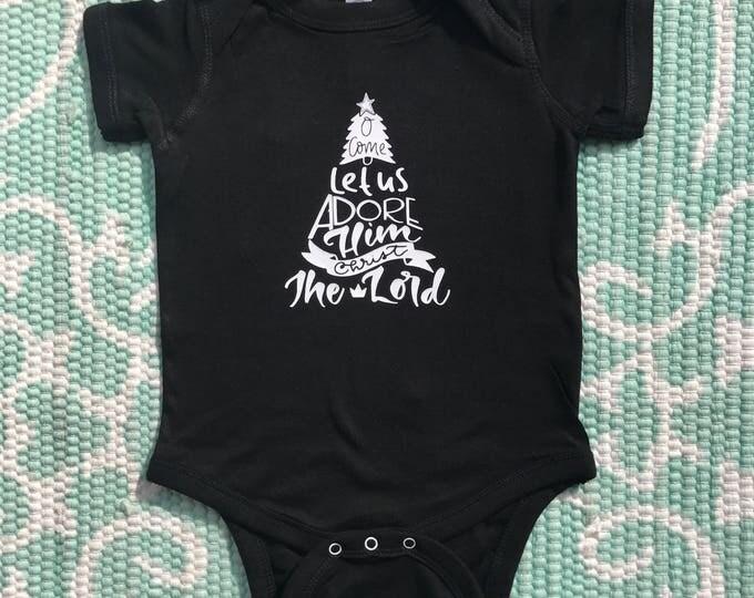 O Come Let Us Adore Him (Babies/Kids)