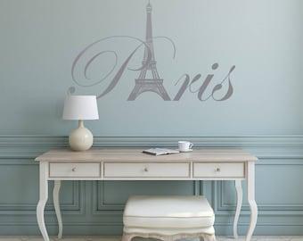 Superieur Paris Wall Decals   Paris Theme Decor, Paris Wall Decal Vinyl Lettering,  Paris France