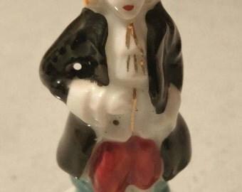 Victorian Gentleman ~ Victorian miniature ~ miniature ~ China ~ Hand Painted ~ Occupied Japan
