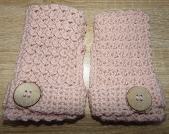 Crochet women gloves