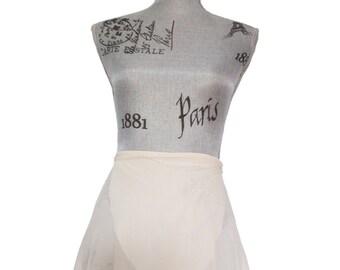 Champagne Ballet Wrap Skirt  - Short