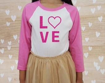 Kids Valentine Shirt | Etsy