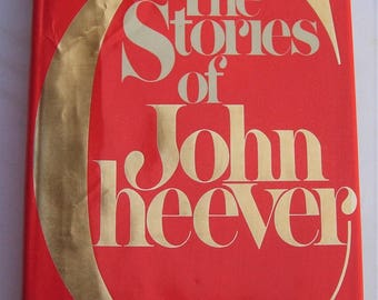 The Stories of John Cheever 1978 First Edition Very Good