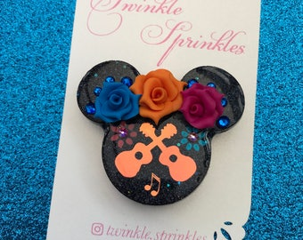 COCO inspired Pixar Disney brooch / necklace
