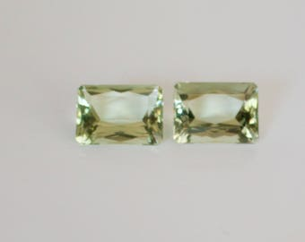 Green Amethyst (Prasiolite ) Loose Gemstones.
