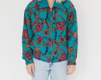 Vintage 90s Jewel Bomber Jacket