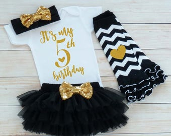 5th Birthday Outfit, Fifth Birthday Outfit Girl, 5th Birthday Girl Shirt, Birthday Gift, Fifth Birthday Girl, 5th Birthday Girl Bodysuit
