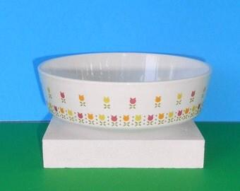 Centura by corning , small Dish/Bowl, VINTAGE-APRIL-TULIPS  1 bowl