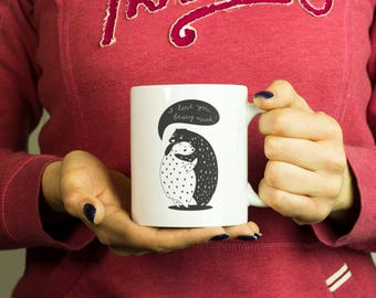 I love you beary much Mug, Coffee Mug Funny Inspirational Motivational Quote Coffee Cup D0307