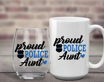 Police Aunt | Cop Aunt | Police Wife | Cop Wife | Police Sister | Cop Sister | Police Mom | Cop Mom | Police Girlfriend | Cop Girlfriend  |