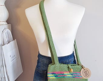 Crochet Shoulder Bag, Crochet Purse, Boho Purse