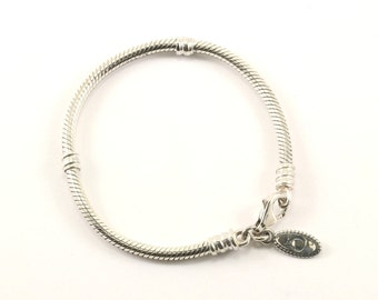Authentic Pandora Lobster Lock Charm Bracelet 925 Sterling BR 2589