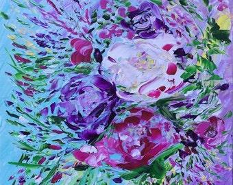 """Wild Impasto """"Viola Fleur"""""""