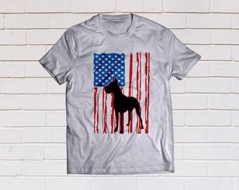 American flag svg, Merica svg, Great Dane svg, Dog Flag svg, Usa flag svg, SVG Files, Cricut, Cameo, Cut file, Clipart, Svg, DXF, Png, Eps