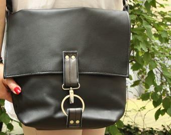 Ledershopper, leather bag, shoulder bag