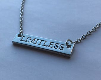 Limitless Silver Bar Necklace